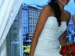 Piękna Koronkowa Suknia Slubna- kupiona w Portugalii