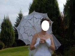 """Piękna, koronkowa suknia ślubna """"MELODY"""" (model: Rybka) + GRATISY !!!"""