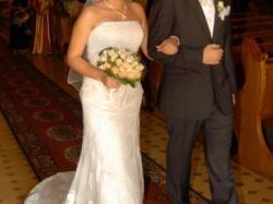 Piękna koronkowa suknia ślubna Rondalla firmy San Patrick 38-40