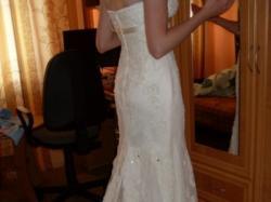 Piękna koronkowa suknia ślubna roz 38