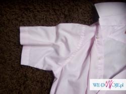 Piekna koszula MARKS&SPENCER w KOLORZE RÓŻOWYM Z DELIKATYMI PASECZKAMI