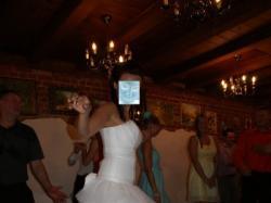 Piękna, lekka suknia ślubna