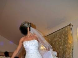 piekna markowa suknia LISA FERRERA