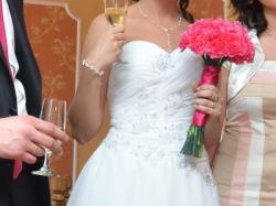 Piękna Markowa Suknia Ślubna ~~Dreamon Bridals~~