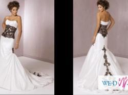 Piękna niepowtarzalna suknia ślubna