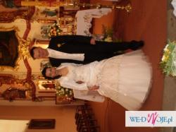 Piękna , niepowtarzalna suknia ślubna NAPRAWDĘ WARTO!!!