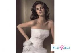 Piękna, niezwykle elegancka  hiszpańska suknia z kolekcji Atelier Diagonal 310