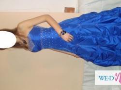 Piekna orginalna wieczorowa suknia z Londunu