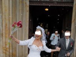 piękna, oryginalna suknia ślubna firmy AGORA