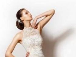 Piękna, oryginalna suknia ślubna Sposabella.