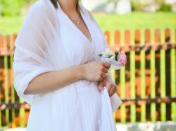 Piękna plisowana suknia r.42-44 TANIO!