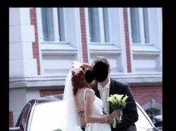 Piękna, prosta, koronkowa suknia ślubna