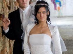 Piękna skromna delikatna ślubna!!