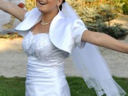 Piękna, skromna suknia ślubna:)