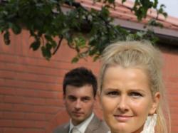 Piękna ślubna suknia firmy Pronovias, model ALTEA