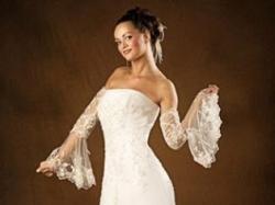 "Piękna, subtelna suknia ślubna ""Tecro"", salonowa"