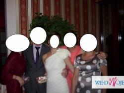 Piękna sukienka na ślub cywilny bądż poprawiny