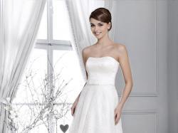 Piękna sukienka ślubna AGNES Crystal Collection (2015 -2016)