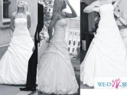 Piękna Suknia BOMBKA + Etola i Welony GRATIS!!!