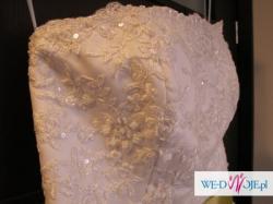 Piękna suknia Domu Mody Fulara&Żywczyk Model 20 **STAN IDEALNY**