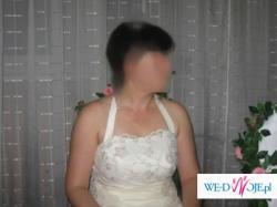 Piękna suknia ecru- Wrocław