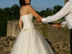 Piękna suknia firmy Cymbeline + gratis