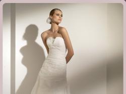 Piękna suknia firmy PRONOVIAS, model MANILA 2010