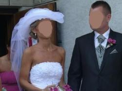 Piekna suknia Justin Alexnader 8483