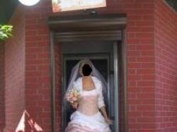 Piękna suknia Madame Zaręba
