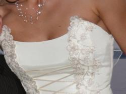Piękna suknia Madame Zaręba - Sydonia