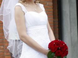 Piękna suknia Novenna z salonu Margarett