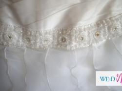 Piękna suknia ślibna rozmiar 38