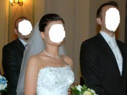 piękna!! suknia ślubna