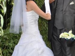 Piękna suknia ślubna 34/36 - stan idealny
