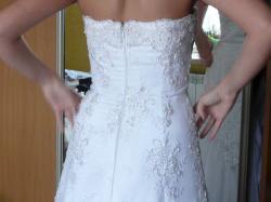 piękna suknia ślubna 36-38