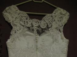 piękna suknia ślubna 36/38 cenowa okazja !!!!