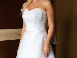 piękna suknia ślubna 38