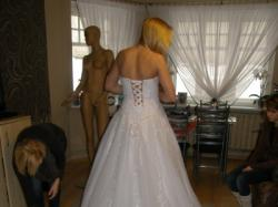 Piekna suknia ślubna 38-40