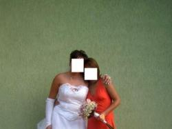Piękna suknia ślubna 40/42