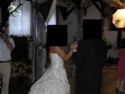 Piękna suknia ślubna 800 zł