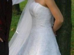 Piękna suknia ślubna!!!!