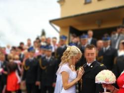 Piękna suknia ślubna Afrodyta