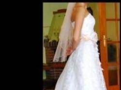 Piękna suknia ślubna Agnes 34/36