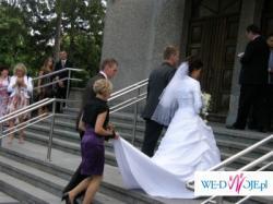 Piękna suknia ślubna AGNES, kolekcja 2008