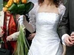 Piękna suknia ślubna Agnes tanio })i({