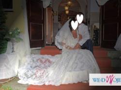 piękna suknia ślubna ANALISA rozm 38