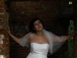 Piękna suknia ślubna andrea r.44-46