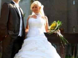 Piękna suknia ślubna Anny Lachor Poznań
