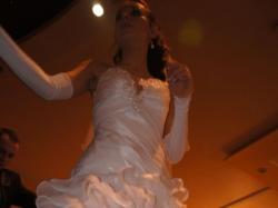 Piękna suknia ślubna Ashanti z kolekcji Żannet.