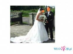 Piękna suknia Ślubna Aspera 4290 1200 Okazja